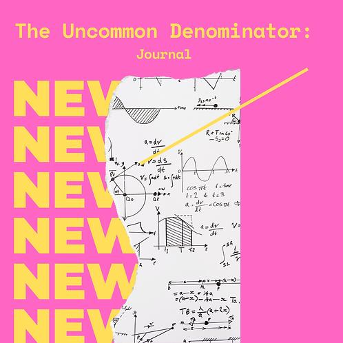 The Uncommon Denominator Journal