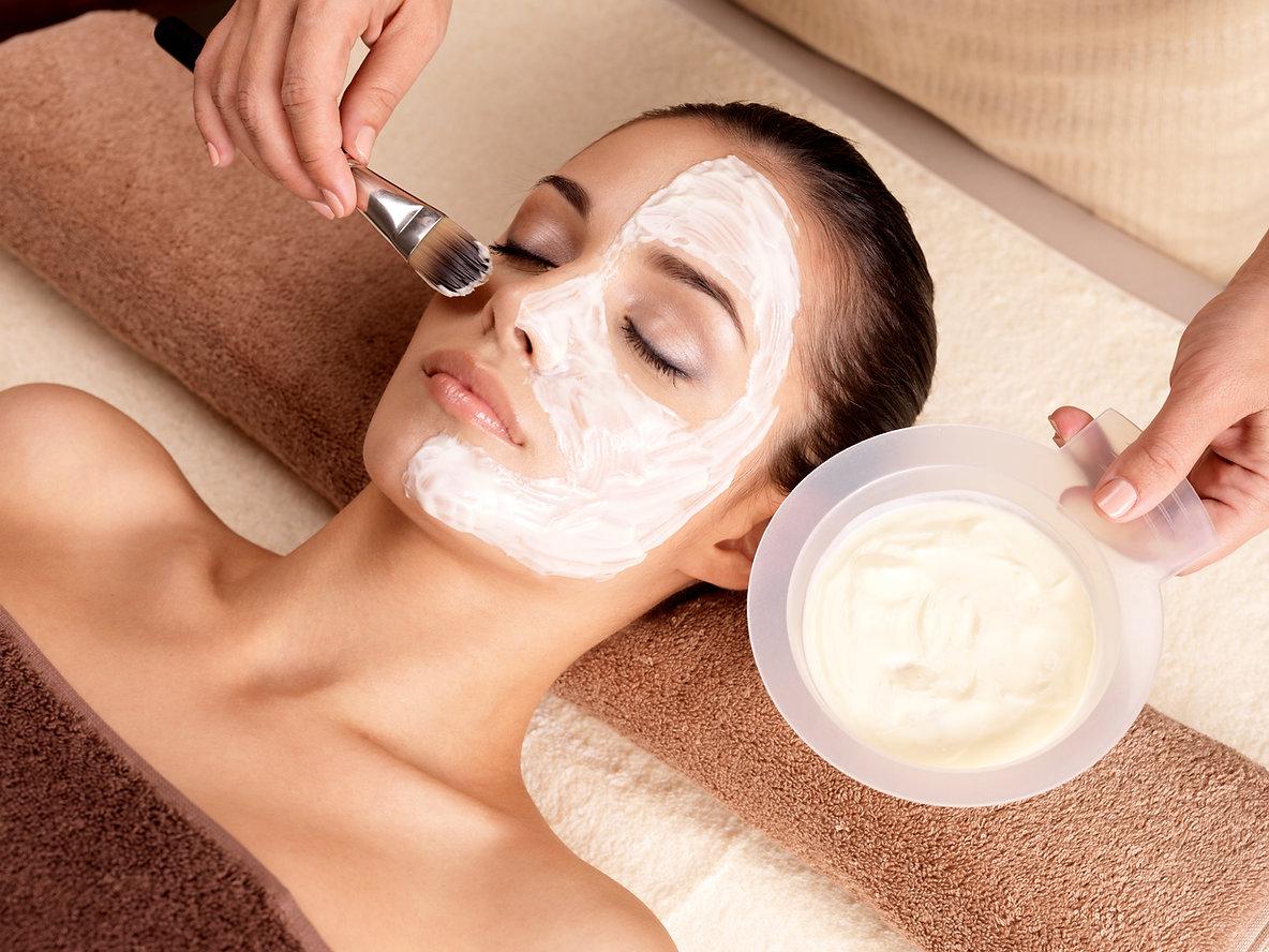 Beauty theapy facial