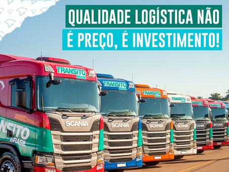 Qualidade logística não é preço, é investimento!