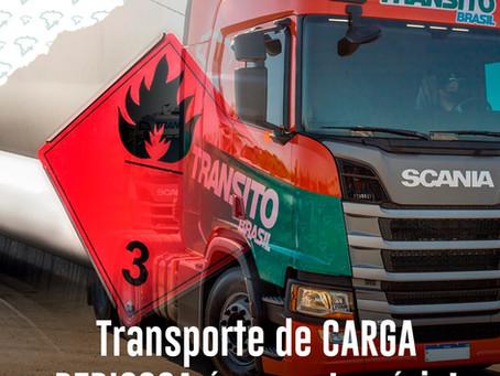 Transporte de carga perigosa é assunto sério!