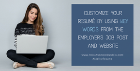 Customize Your Resume Using Keywords