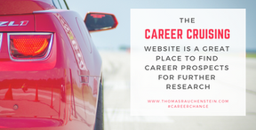 Consult Websites Like Career Cruising For Research Ideas
