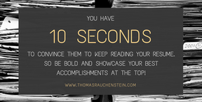 Showcase Your Best Accomplishments At The Top Of Your Resume