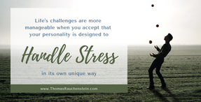 Manage Work Stress By Harnessing Your Personality Type