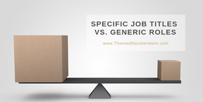 Finding Specific Job Titles Within A General Occupation