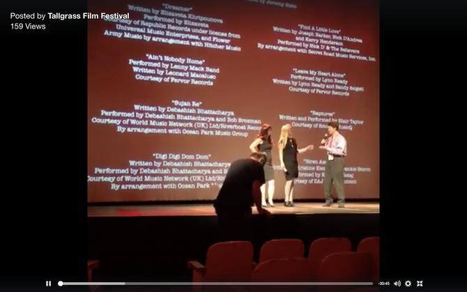 Q&A with Heather Matarazzo & Writer/Director Dorie Barton at the Tall Grass Film Festival!