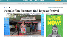 Writer/Director Dorie Barton appearing at the Florida Film Festival this week!