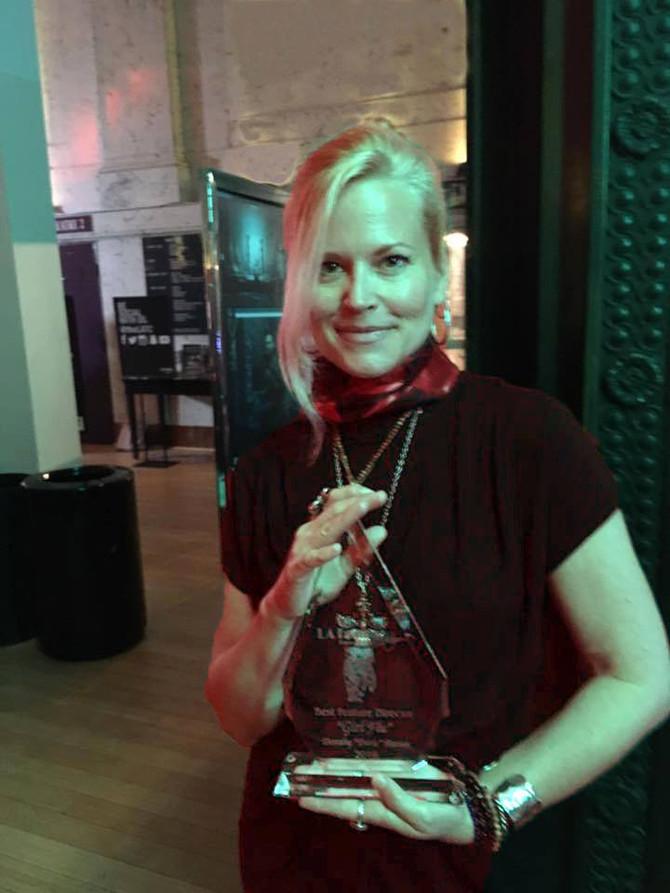 Writer/Director Dorie Barton Awarded Best Director at LA Femme Film Festival.
