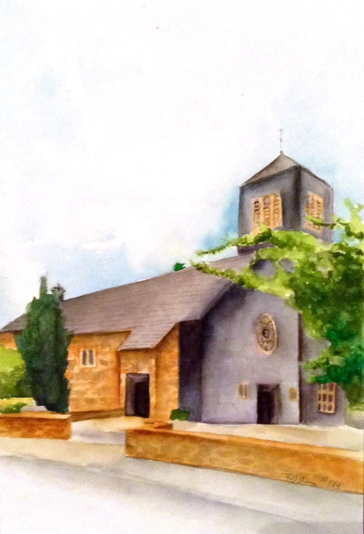 Kirche Gey