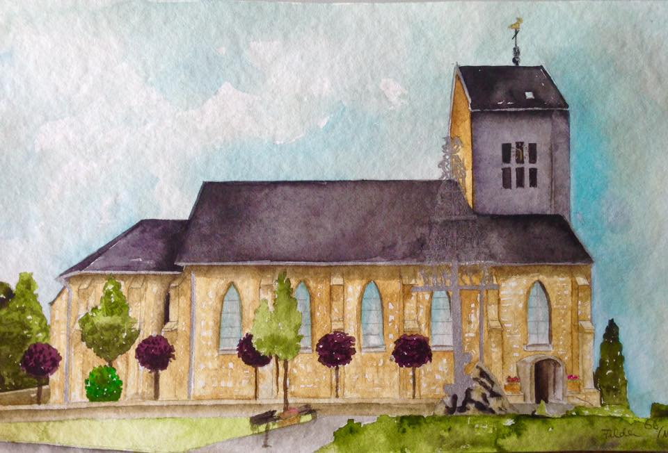 Kirche Vossenack