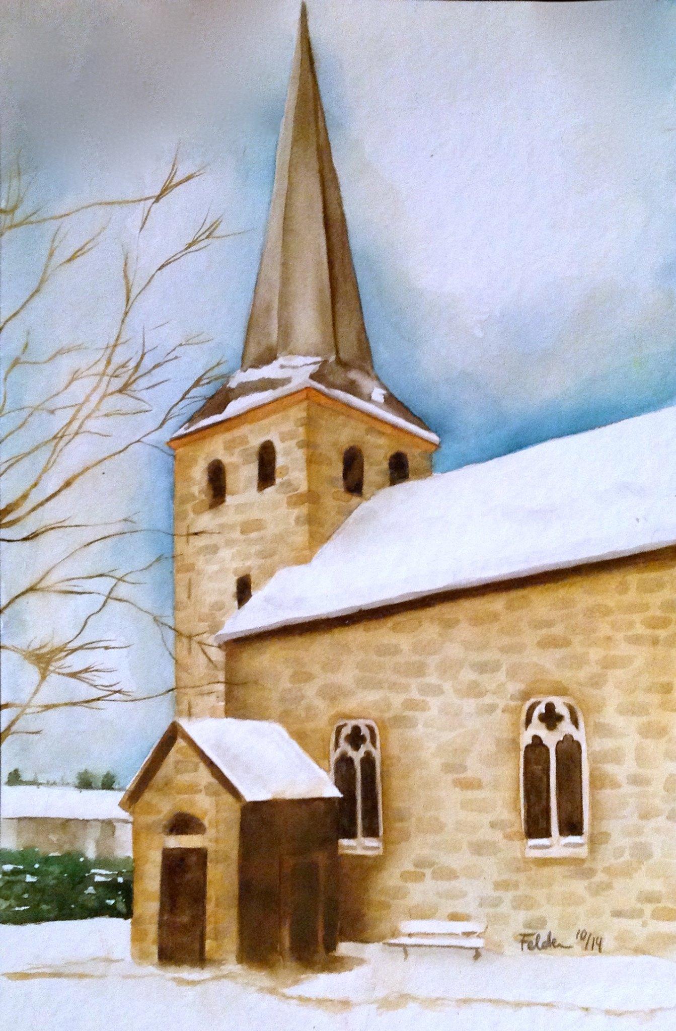 Kirche Bergstein