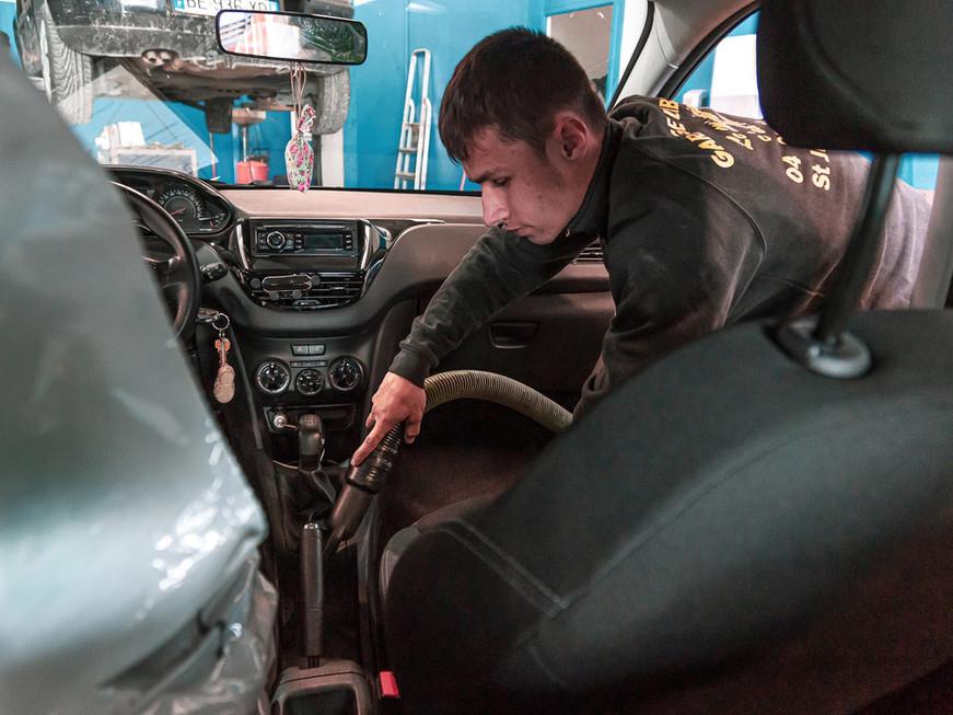 Nettoyage des véhicules après intervention
