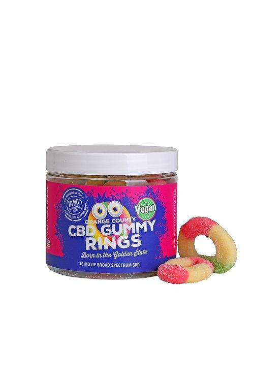 Small CBD Gummy Rings 50mg