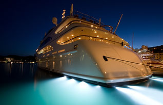 The large white  yacht in the port.jpg