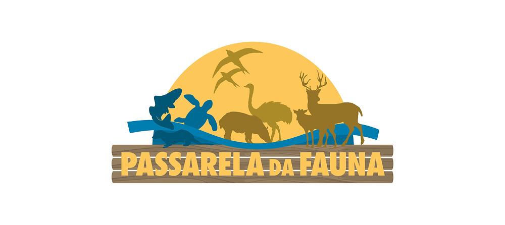 Logotipo da Passarela da Fauna
