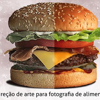 Direção de arte para fotografia de alimentos