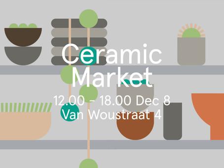 Exclusive pre-sale of items Sunday at Hutspot Ceramic Market!