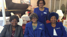 Past Charm National Presidents:  Mae Orr, Betty McLaurin, Omega Parker