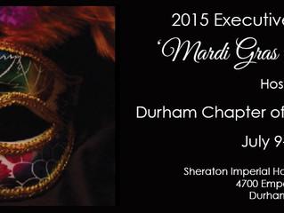 2015 Executive Board Meeting | Durham, NC July 9-12, 2015