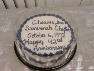 Savannah Chapter Celebrates 42 Years