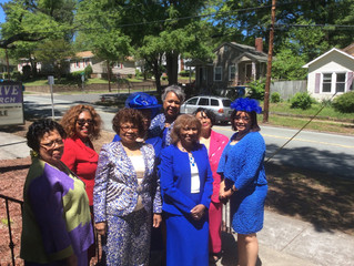 Durham Chapter Church Visitation at Mt. Olive AME Zion Church