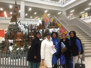 Gahanna Chapter of Charms Visits the Newly Renovated Columbus Metropolitan Library
