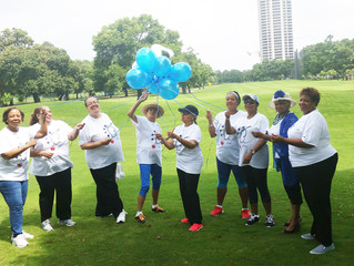 Houston Charms Walk for a Healthy Heart!