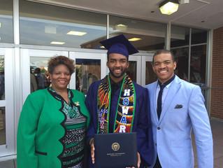 Gem Trey Poindexter Graduates from Howard University