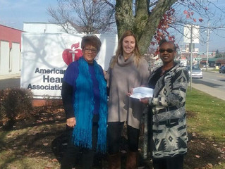 Gahanna Chapter of Charms Makes Donation to the American Heart Association