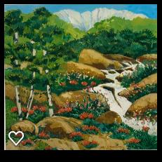 Mountain Stream by Nancy Lynn