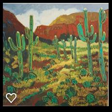 8 Saguaro by Nancy Lynn