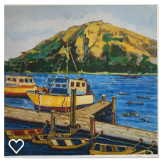Morrow Bay Morning by Nancy Lynn
