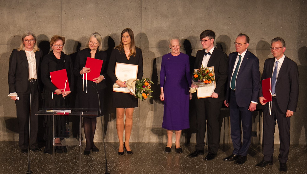 HM Margrethe II of Denmark, Margrét Hallgrímsdóttir, Mette Skovgaard, Katarzyna Anna Kapitan, Dale Kedwards, Flemming Besenbacher. Jón Atli Benediktsson