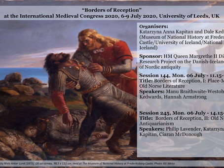"Conference: Sessions on ""Borders of Reception"" at IMC 2020"