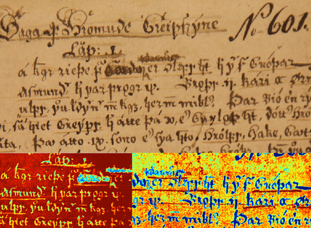 Publication: Multispectral analysis of an Icelandic saga manuscript