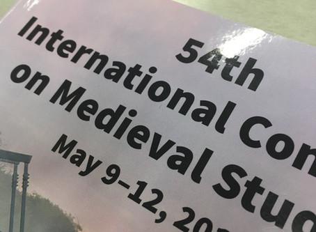 Conference: Kalamazoo 2019