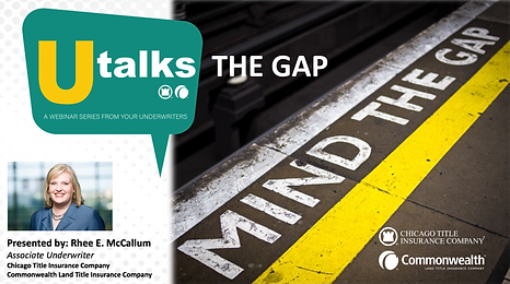 Utalks-The Gap