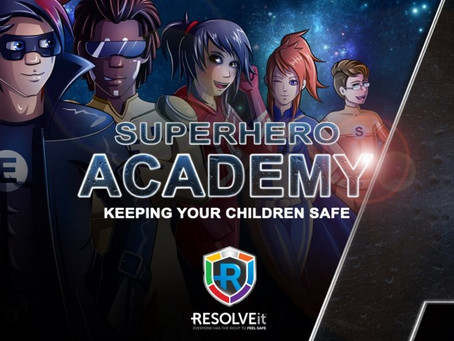 RESOLVEit Superhero Academy launches