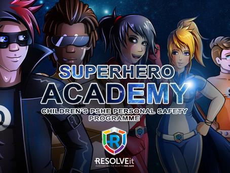 SUPERHERO SELF-DEFENCE KIDS CLASSES