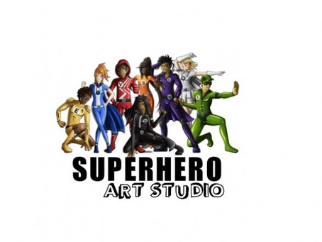 Learn to Draw Superheroes!