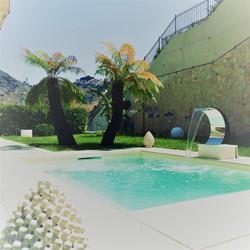 Luxury apartment private mini pool