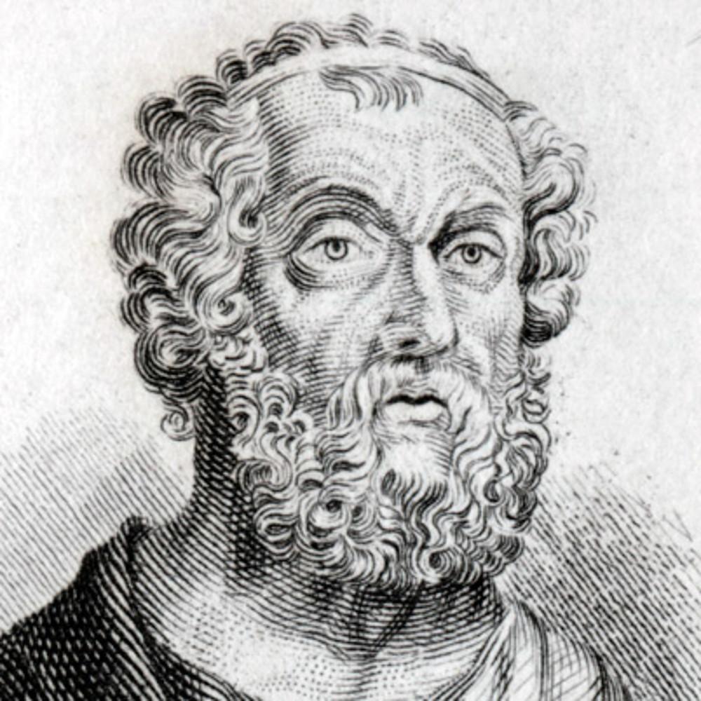 Homer, writer of Iliad and Odyssey. Foundations of Greece. Greek mythology