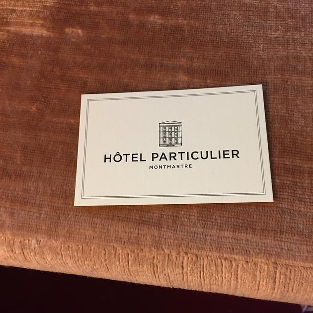 L'HOTEL PARTICULIER