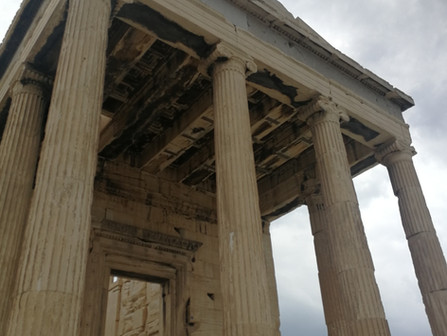 the Greek epic, Interlude: out of democracy and in to battle