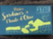 petites sardines du Pays Basque Peita (1