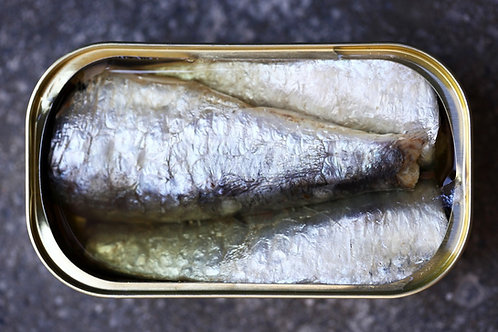 Traditional sardines in olive oil - Millesime 2016