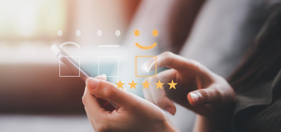 Customer service satisfaction survey con