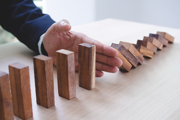 Protection finance from domino effect co