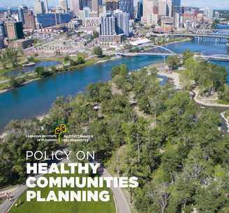 Under Olimpia's mandate as Chair CIP Healthy Communities Committee it was launched in 2018 the Healthy Communities Policy. This policy defines the role that planning has in fostering vibrant environments and active lifestyles that promote and protect the health of all Canadians, increasing the social and health equity of our communities.