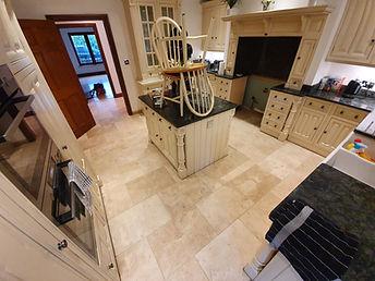 Limestone Tile Floor Cleaning Essex
